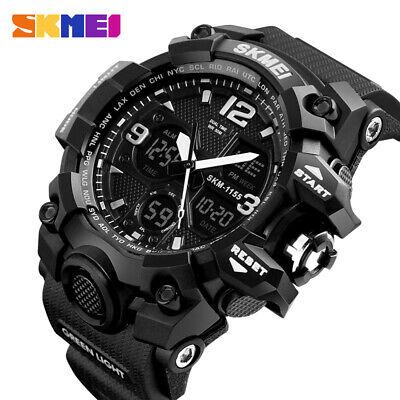 Orologio Da Polso Al Quarzo Elettronico Digitale Da Uomo Moda Casual Watch T9X1