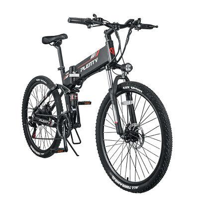 48V 500W 10AH Bicicleta Eléctrica Plegable Ciclomotor eBike Bicicleta De Montaña