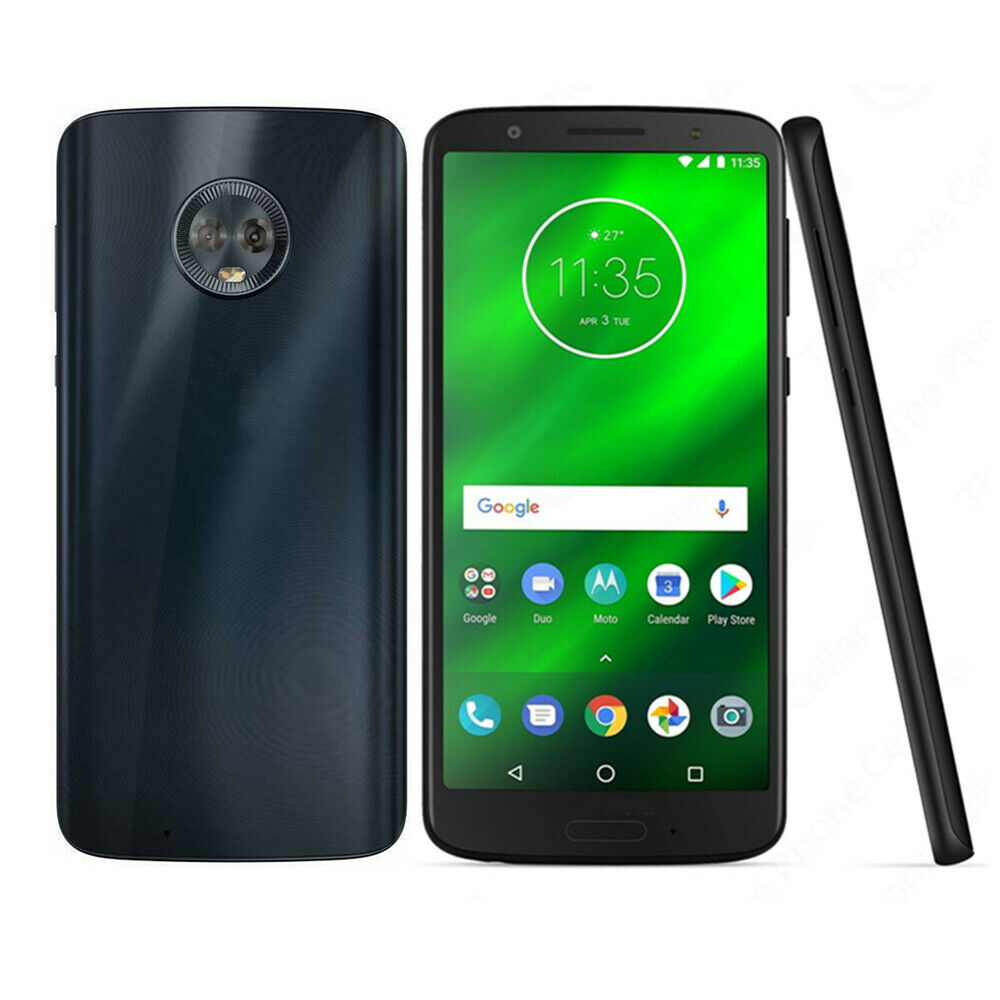 Android Phone - Motorola Moto G6 XT1925-12 3+32GB Android GSM AT&T T-Mobile Unlocked Smartphone