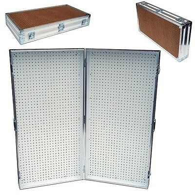 Pegboard Display Pegboard Rack Stand Portable Pegboard Case - 48 X 48 High