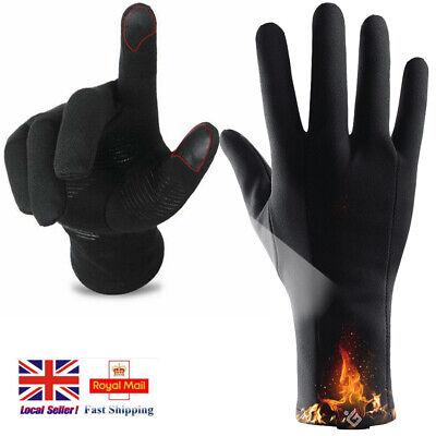 Warm Winter Windproof Waterproof Anti-slip Thermal Touch Screen Bike Ski Gloves