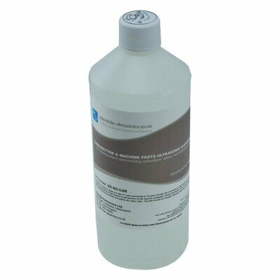 Ultrasonic Carburettor Cleaner Concentrated Solution Fluid 1l Machine Parts Carb
