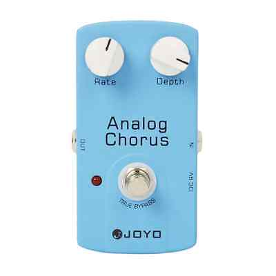 New JOYO JF-37 Electric Guitar Effect Pedal ANALOG CHORUS True Bypass