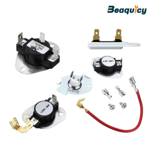 3387134, 3977767, 279816, 3392519 Dryer thermostat fuse kit by Beaquicy