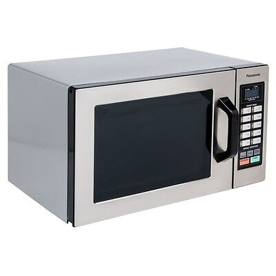 New In Box Panasonic Heavy Duty Commercial Touch Screen Microwave Oven