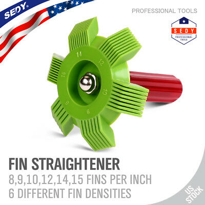 Condenser Fin Straightener Comb 6 In1 Cleaner Automotive Ac Radiator Evaporator