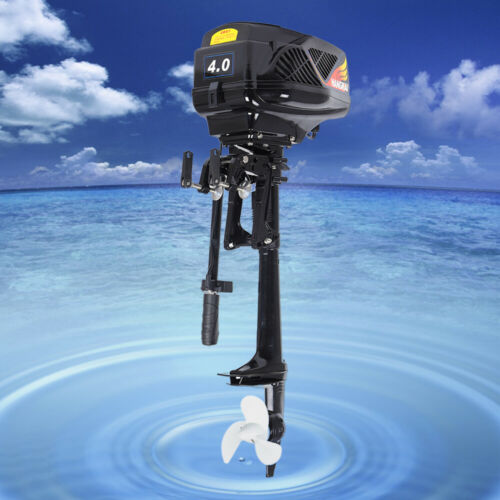 Heavy Duty 1000W Electric Outboard Motor Boat Engine Propeller For Fishing 4HP