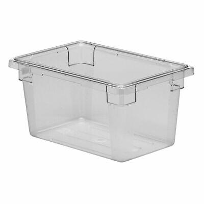 Cambro 12189cw135 Camwear Clear Poly 12 X 18 X 9 Food Storage Box
