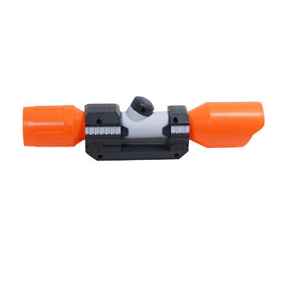 Orange Tactical Scope Sight Attachment ABS Plastic Toy for Nerf Modify Toy