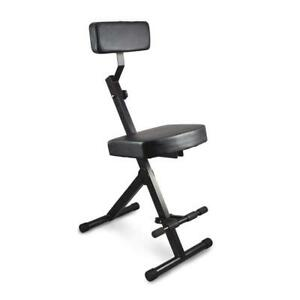 Used Pyle-Pro PKST70 Durable Portable Adjustable Musician and Performer Chair Seat Stool Condtion: USED. Scrached in ...