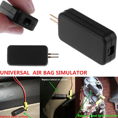 Universal Car SRS Air Bag Airbag Fault Light Simulator Emulator Sensor Bypass