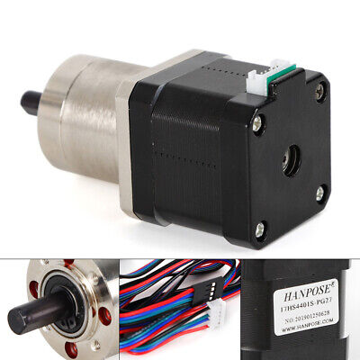 127 42 Precision Planetary Gear Stepper Motor Nema 17 Step Motor 20-200rpm Usa