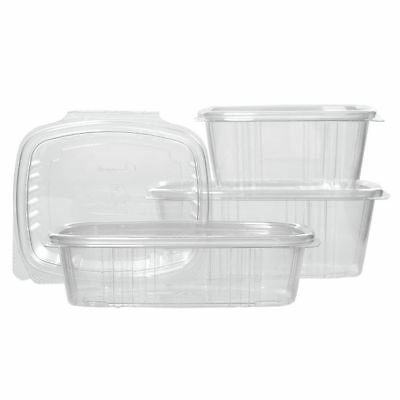 Take Out Food Disposable Container Hinged 16 Oz - 5 38l X 4 12w X 2 58h