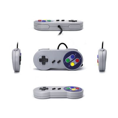 1pc SNES USB Gaming Controller GamePad Joystick For Windows PC Mac Game