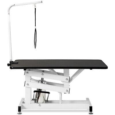 Hydraulic Dog Pet Grooming Table Heavy Duty Big Size Z-Lift w/ Adjustable Arm