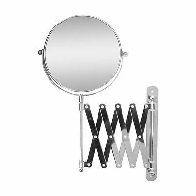 Elegant Home Fashions SM-209 Extendable Wall-Mount Magnifying Makeup Mirror