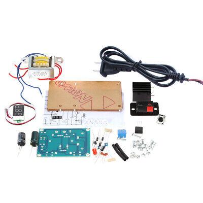 Lm317 1.25v-12v Adjustable Regulated Voltage Power Supply Diy Kit Us Plug J8x4