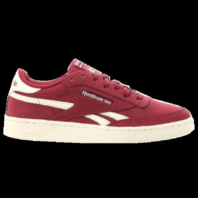 Marroon Reebok Classic Sneakers for Men