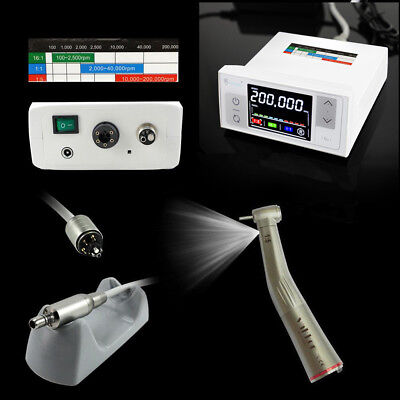 Cicada Nsk Led Dental Electric Motor High Speed 15 Handpiece Contra Angle