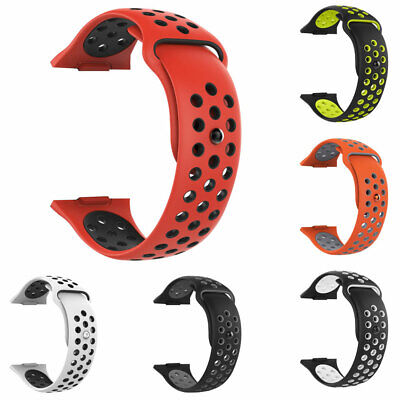 Replacement Dual Color Silicone Watch Band Wrist Strap for Fitbit Ionic Welcome Fit Tech Parts & Accessories
