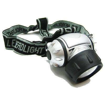 TITAN 19 LED ADJUSTABLE PIVOTING HEAD LIGHT LAMP HEADLAMP CAMPING HIKING CAVING