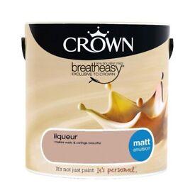 Paint 2.5L Crown Liquer unopened