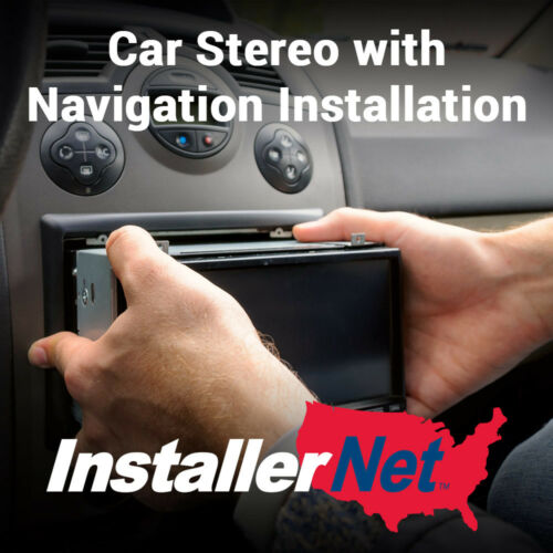 Car Stereo with Nav or Video Installation from InstallerNet - Lifetime Warranty