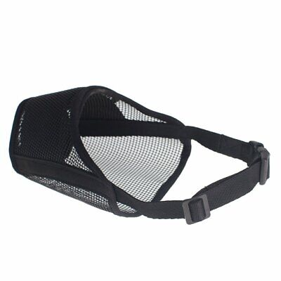 Petperi Breathable Mesh Best Fit Nylon Dog Muzzle - Adjustable - Large &