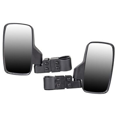 Black Side View Mirror Set 1998-2019 Polaris Ranger RZR XP Crew 570 800 900 1000
