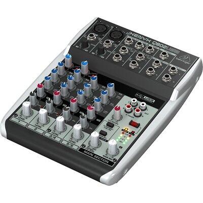 mixer BEHRINGER xenyx Q802 USB professionale DJ 8 con canali garanzia ITALIA NEW, usato usato  Bellariva