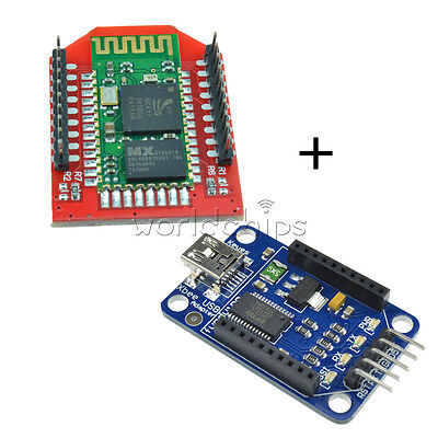 Arduino Bluetooth Bee Slave Hc-06 Module With Bluetooth Bee Xbee Adapter New