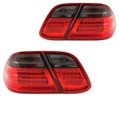 Design Rückleuchten Set links & rechts LED Mercedes W208 C-Kl 97-02 Klarglas YYG