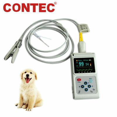 Ce Fda Veterinary Pulse Oximeter Spo2 Pr Vet Patient Monitor Tongueear Probe