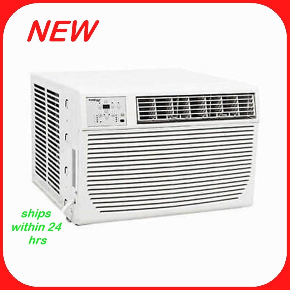 Koldfront WAC12001W 12,000 BTU 208/230V Heat/Cool Window Air