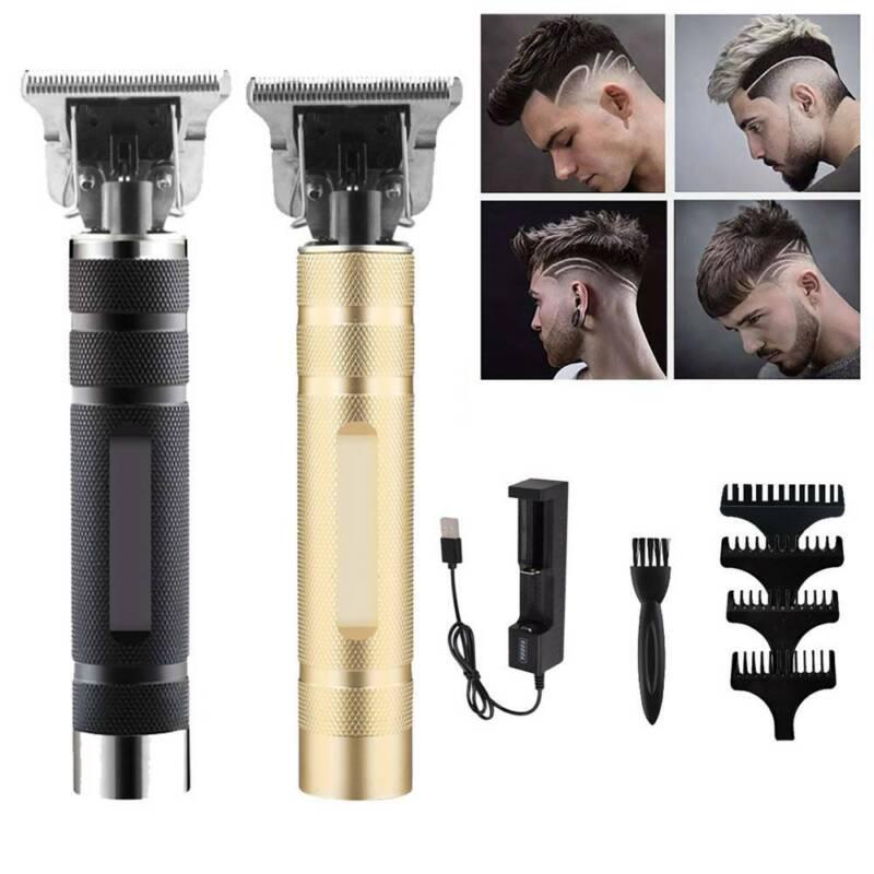 Mens Electric Trimmer Set Hair Clipper Beard Shaver Nose Hai