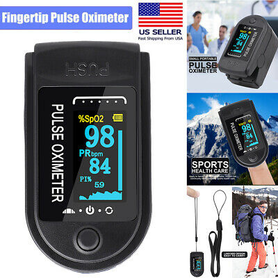 Finger Pulse Oximeter Spo2 Blood Oxygen Saturation Pulse Monitor Fda