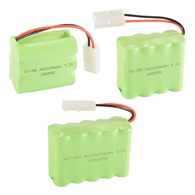 Nimh Square (RC 7.2V/9.6V/12V 2600mAh Ni-MH Battery Square Battery Pack for RC Car Truck)