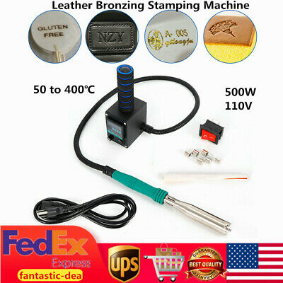 Leather Manual Bronzing Stamping Machine Diy Pvc Logo Hot Foil Embossing Printer