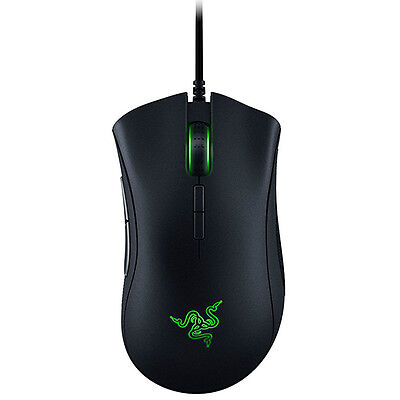 Razer Deathadder Elite Chroma Multi Color Ergonomic Gaming Mouse Rz01 02010100