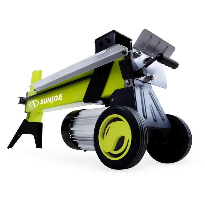 Sun Joe Electric Log Splitter Hydraulic Ram Portable Light D