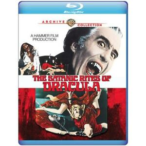 THE SATANIC RITES OF DRACULA  -  Blu Ray - Sealed Region free