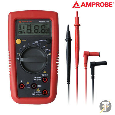 Amprobe Am-500-eur Diy Pro Autoranging Digital Multimeter With Test Leads