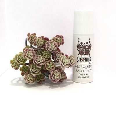 Organic Non-Toxic Mosquito Repellent- 3 oz. Roll on bottle (Best (Best Non Toxic Mosquito Repellent)