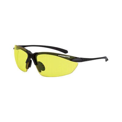 Crossfire Sniper Yellow Hd Matteblack Safety Glasses Shooting Sunglasses Z87