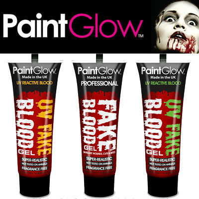 Fake Blood by PaintGlow - ideal for horror fancy dress & halloween