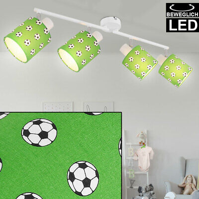 LED Techo Foco , Lámpara Barra Móvil Fútbol Diseño Niños Habitación Iluminación