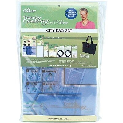 Clover Nancy Zieman's Trace 'n Create City Bag Template #CL9021 Quilting Notions Clover Quilting Notions