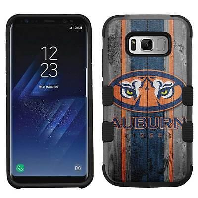 Auburn Tigers #W Rugged Impact Armor Case for Samsung Galaxy S8/Plus/S7/Edge  Auburn Tigers Cell Phone Case