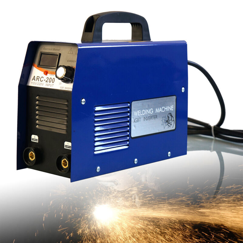 Mini Arc DC IGBT Inverter Welder MMA Electric Aluminum Welding Machine 110/220V