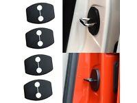4 Pcs Decor Accessory Car Door Anti Rust Lock Protective Cover